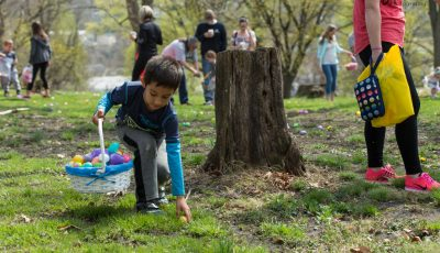 Have you registered your child for the annual Easter Egg Hunt at St. Clair Park?