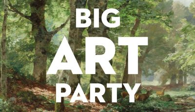 Big Art Party is the Time for Big Fashion, this Year it's Going Green