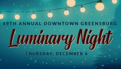 Events in Greensburg December 3 – 9